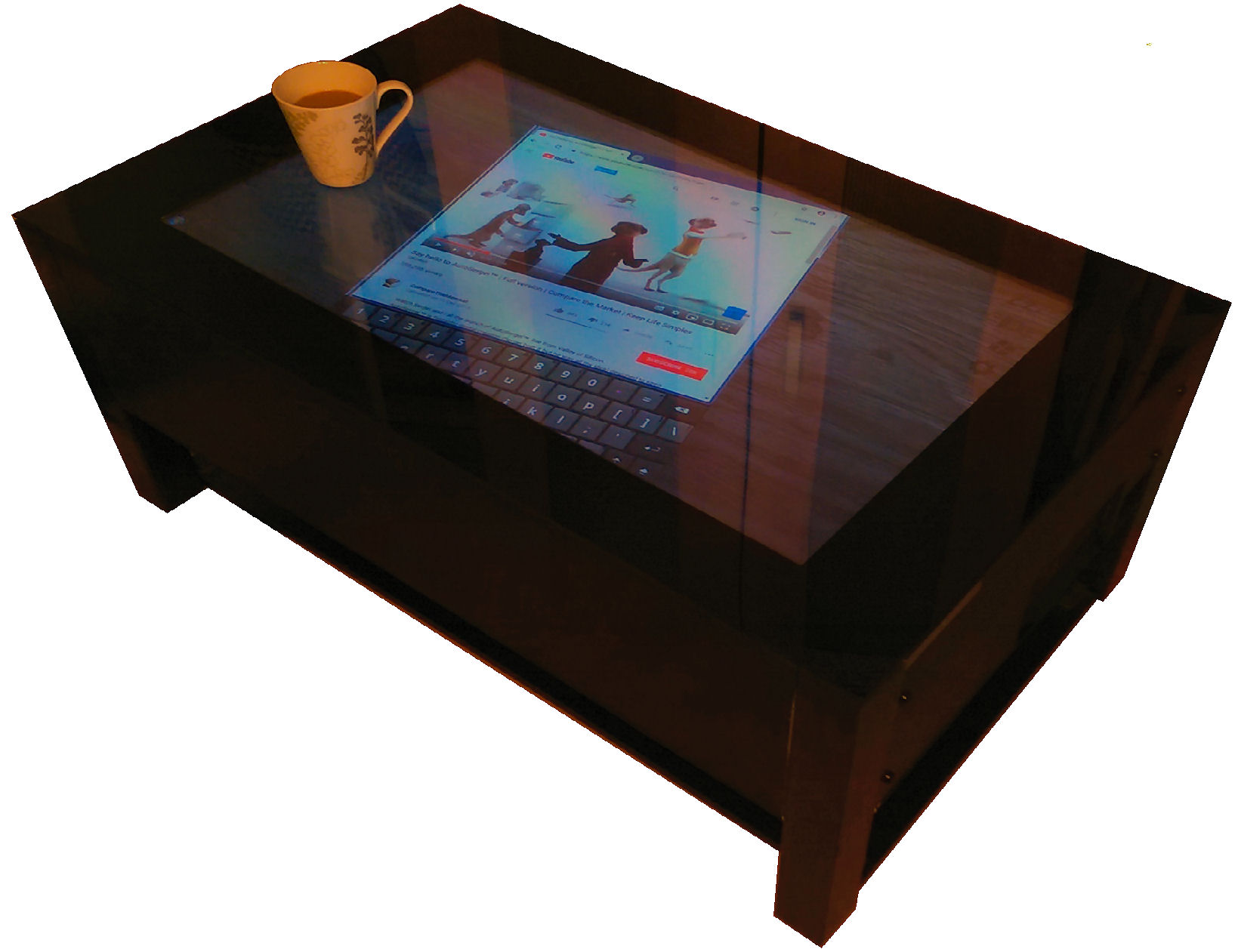 touch screen table 4
